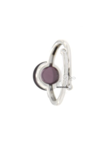 ROUND RING WITH CABOCHON OF...
