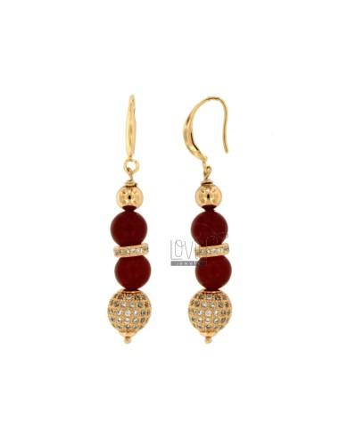 Pendants earrings with...