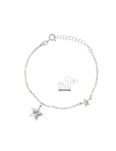 Rolo armband mit star stars...