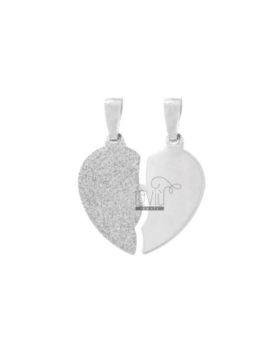 PENDANT HEART LARGE DIVIDED...