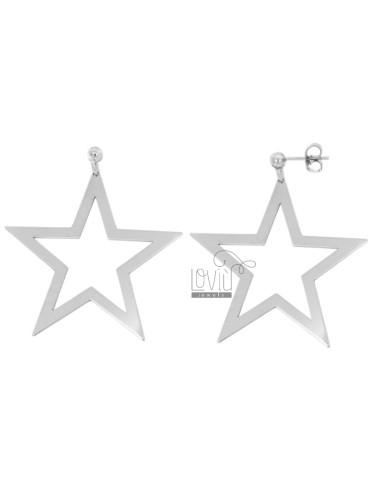 Ohrringe Anhänger A STAR...