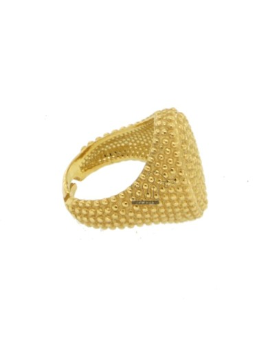 Oval ring ring with...