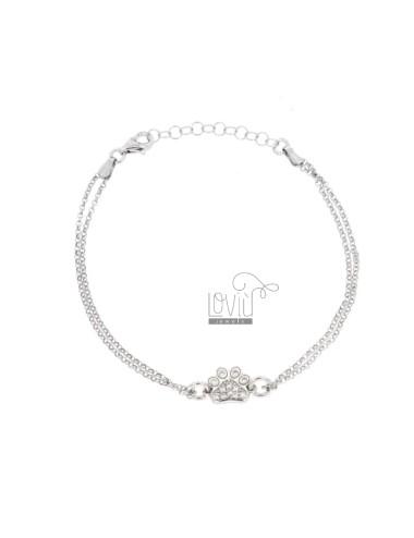 Rolo 'diamond armband mit...
