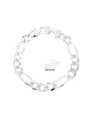 BRACELET SWEATER 3 1 MM 9X25 IN SILVER 925 ‰ CM 20
