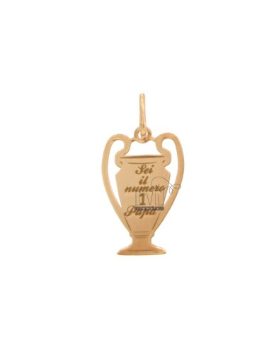 23x14 mm cup pendant with...