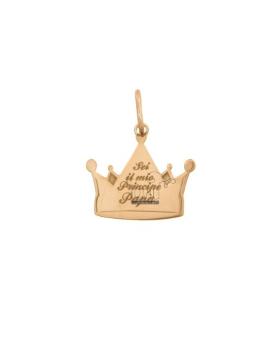 Pendant crown 17x17 mm with...