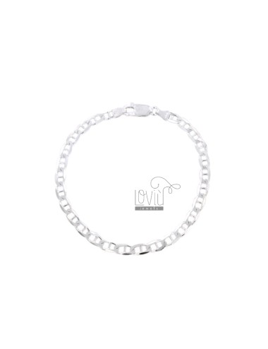 BRACELET SWEATER TRAVERSINO MM 39X09 SILVER 925 ‰ CM 20