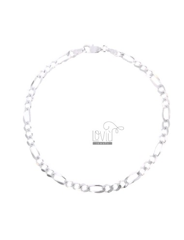 BRACELET SWEATER 3 1 MM 44X152 SILVER 925 ‰ CM 20