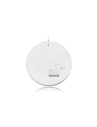 Round pendant diameter 25...