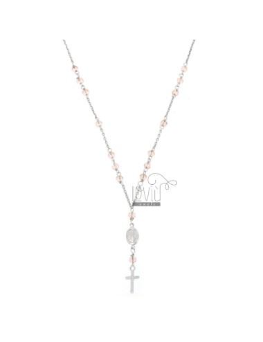 Rosary halskette baby kabel...