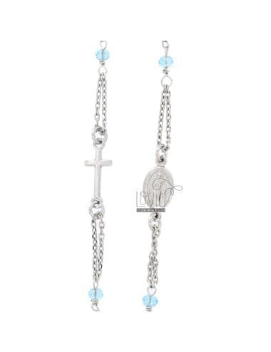 Collar rosario un giro bebé...