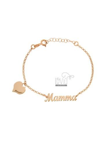 Rolo bracelet with written...