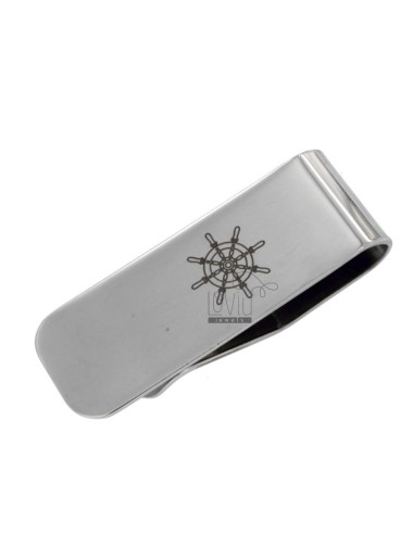 MONEY CLIPS WITH STEEL RUDDER 52X18 MM
