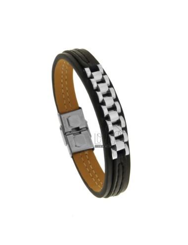 Mm 13 bracelet with central...