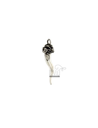 HORN PENDANT 43x12 MM WITH...