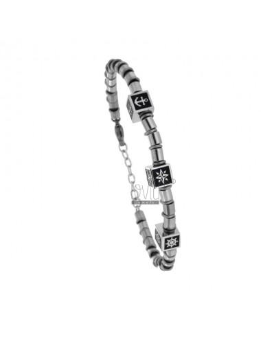 Braided bracelet with...
