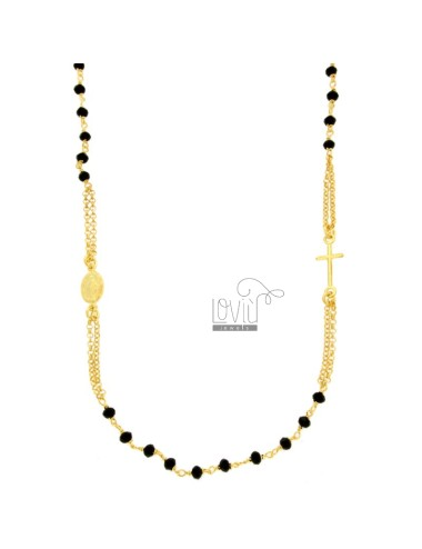 Rosary necklace a giro with...
