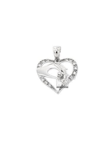 PENDANT HEART LOVE MATERNAL...