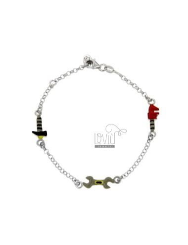 Armbandkabel mit schlüssel...