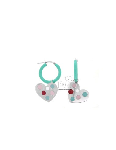 EARRINGS IN CIRCLE DIAM 12...