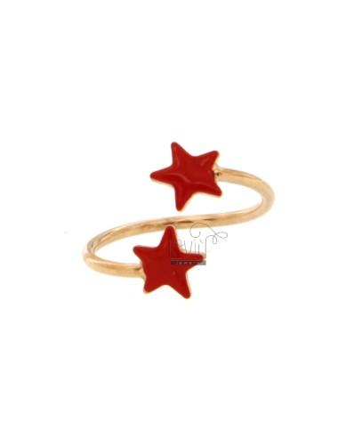 RING GEGENTEIL MIT STARS...