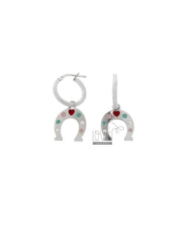 Earrings in circle diam 12...