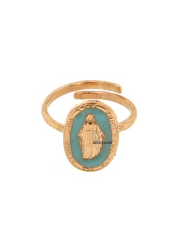 MIRACULOUS RING OVAL MM...