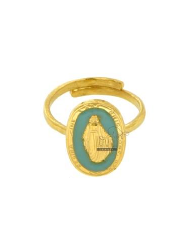Wunderschöner ring oval mm...
