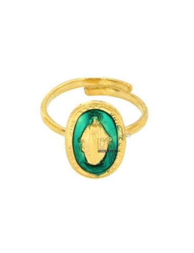 Wunderschöner ring oval...