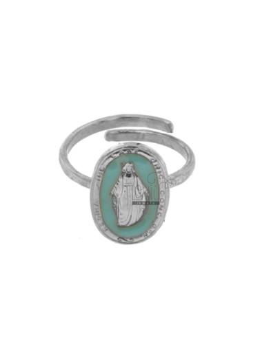 Wunderschönen ring oval...