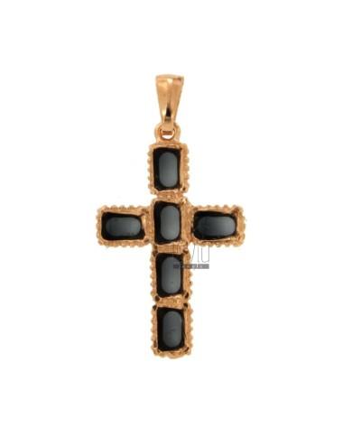 Anhänger Kreuz 6 Quadrat...