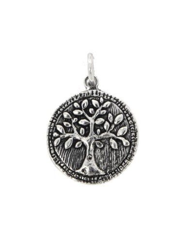 23 mm coin pendant with...