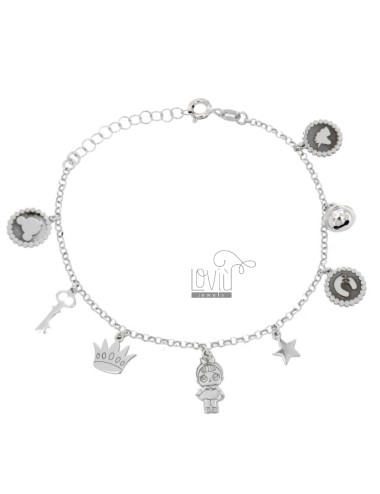 BRACELET WITH BANBOLINA AND...