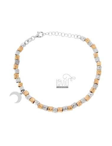 Bracelet with micro pepite...