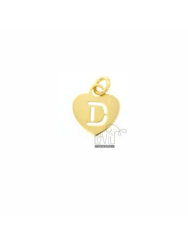 PENDANT HEART MM 13X11 CON...