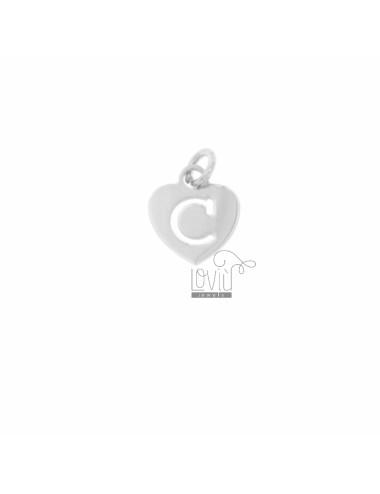 CIONDOLO CUORE MM 13X11 CON...