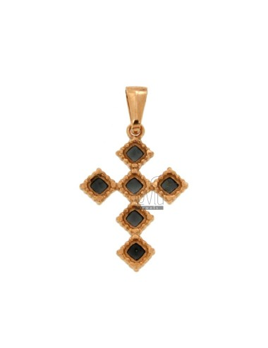 PENDANT CROSS 6 ROMBI MM...