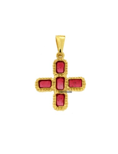 PENDANT CROSS 5 SQUARED...