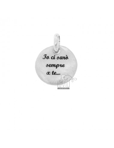 PENDANT 18 MM ROUND I WILL...