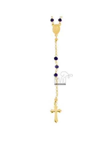Collar de rosario con...