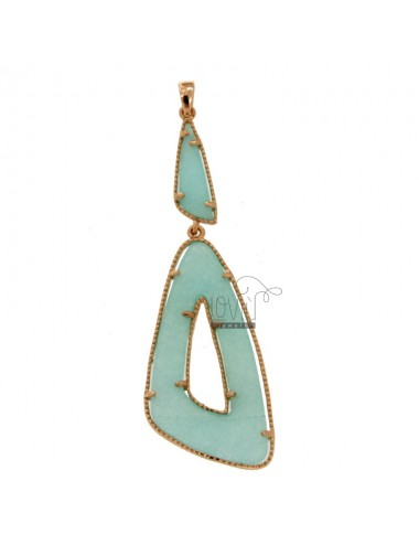 DOUBLE TRIANGLE CHARM IN...