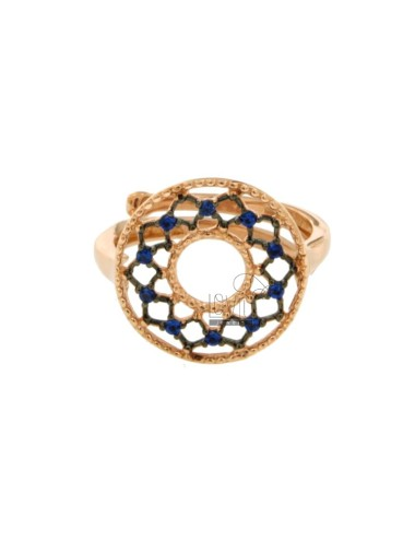 RING MIT LACE EFFECT LACE...