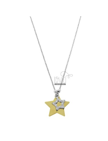 ROLO NECKLACE WITH DOUBLE...