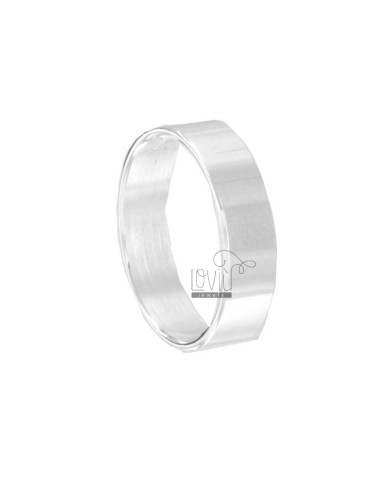 FRENCH RING MM 5 MM SILVER TIT 925 ‰ MEASURE 28
