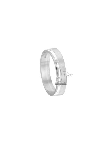BAND RING 4.5 MM SATINADO Y...