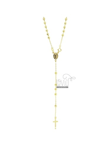 ROSARY NECKLACE CABLE MIT...