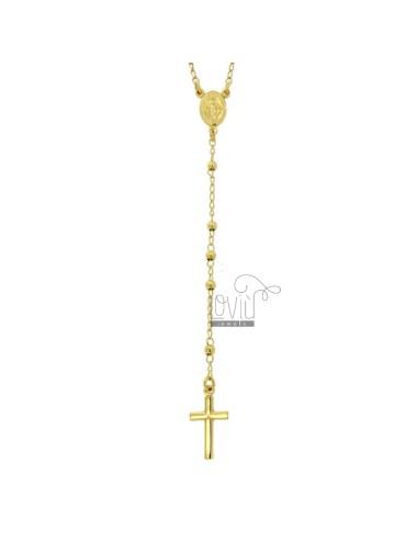 Rosary-halskette mit...