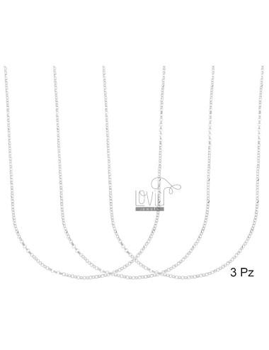 Chain 3 pcs micro rolo 'mm...