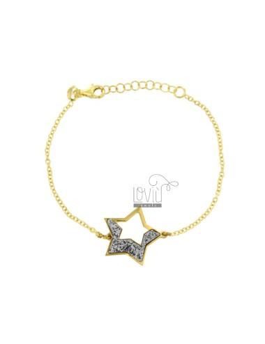 BRACELET FORZATINA MIT STAR...