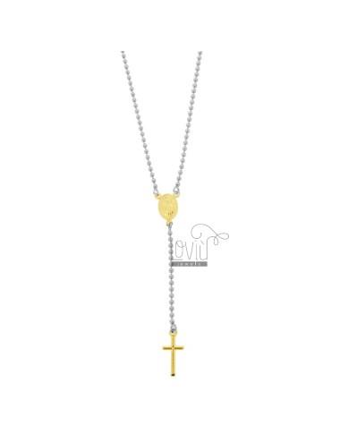 Rosary type halskette mit...